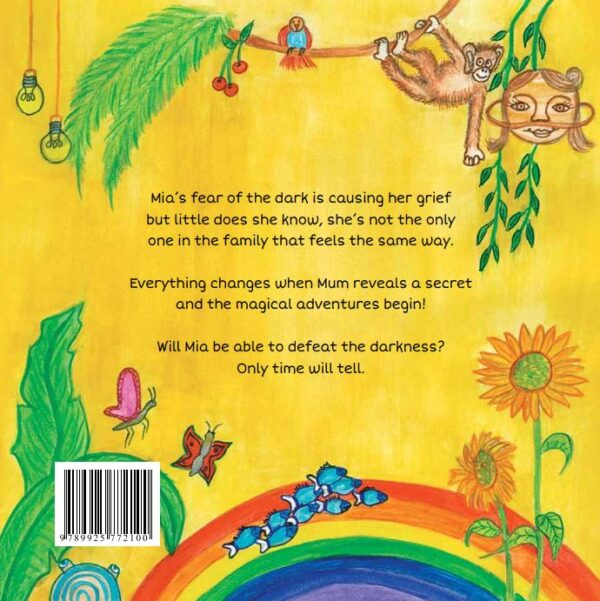 Colourful Darkness Back Cover